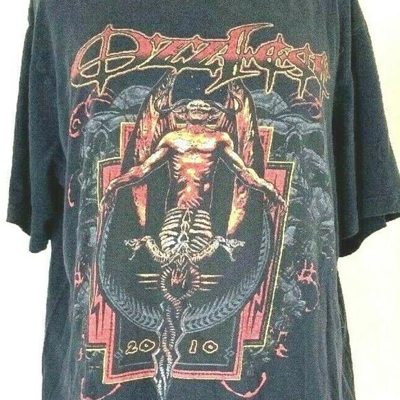 Vintage Other - 2010 OZZFEST Concert T Shirt XL